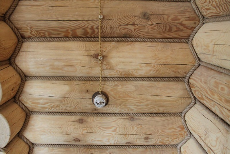 Rules for the installation of open wiring in a wooden house ... on
